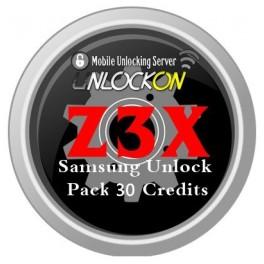 Z3X Samsung Refill 30 Credits - UnlockOn