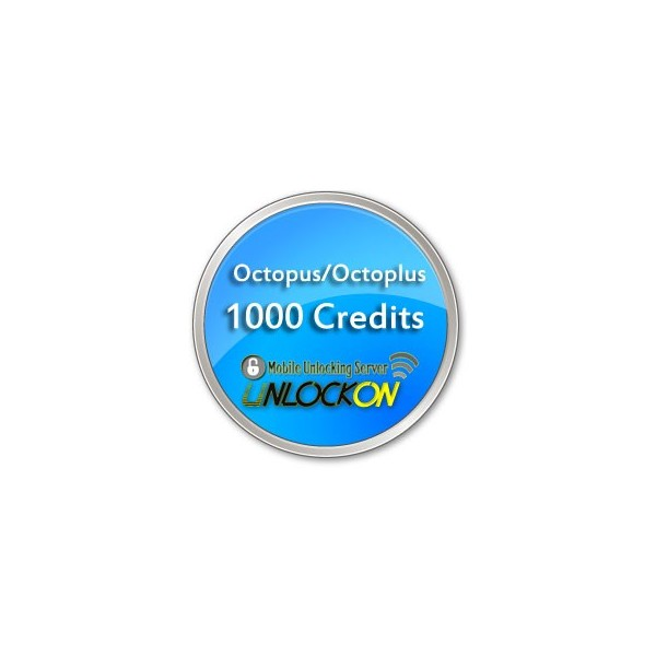 Octopus / Octoplus Server Credits (1000 Credits) - UnlockOn