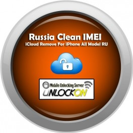 Russia Clean IMEI iCloud Remove For iPhone All Model RU