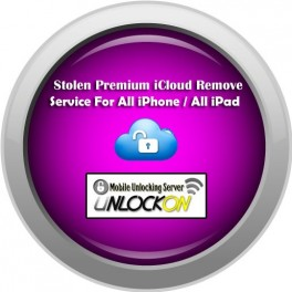 Lost / Stolen Premium iCloud Remove Service For All iPhone / All iPad