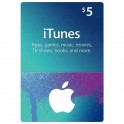 iTunes Gift Card 5 USD