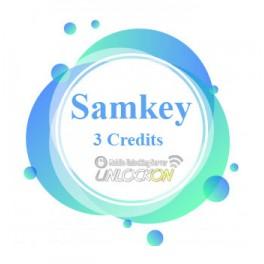 Samkey Samsung Unlock Account 3 Credits