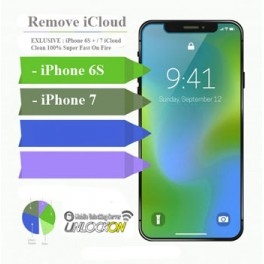 iPhone 6S + / 7 iCloud Removal Clean 100%