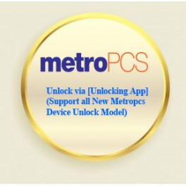 MetroPCS Unlock via [Unlocking App] (Support all New Metropcs Device Unlock Model)