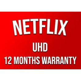 Netflix 12 Months Subscription & Warranty 4 Screens Ultra HD