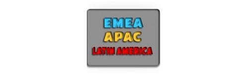 EMEA / APAC/ Latin America Service Networks